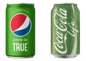 Coke Life & Pepsi True