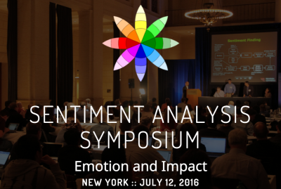 2016 Sentiment Analysis Symposium