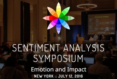 2016 Sentiment Analysis Symposium