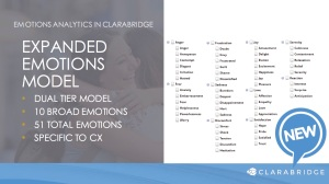 Clarabridge emotion analysis