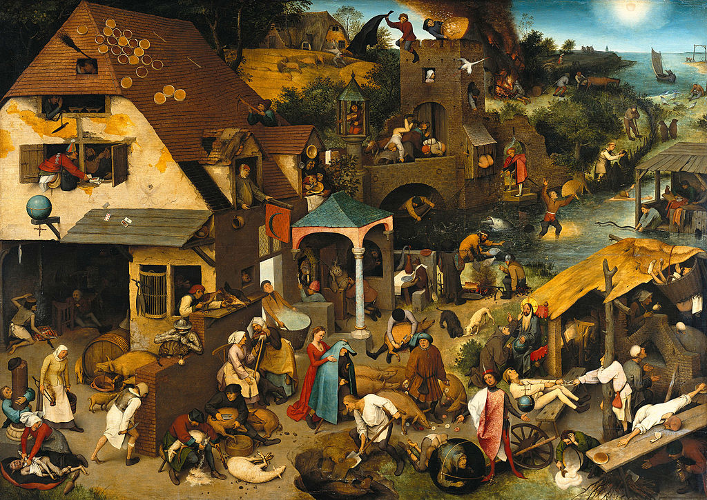 Pieter Brueghel the elder: The Dutch Proverbs