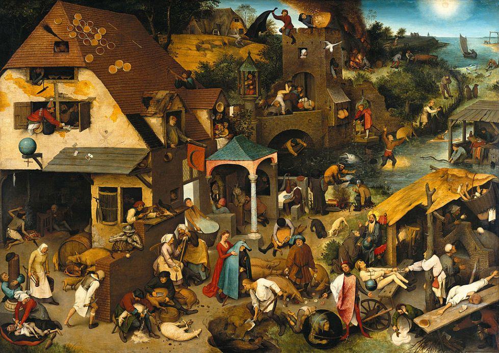 Pieter Brueghel the elder: The Dutch Proverbs