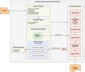SentiGeek's review-analysis technical architecture